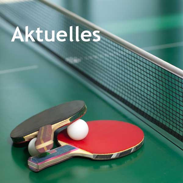 Aktuelles Tischtennis