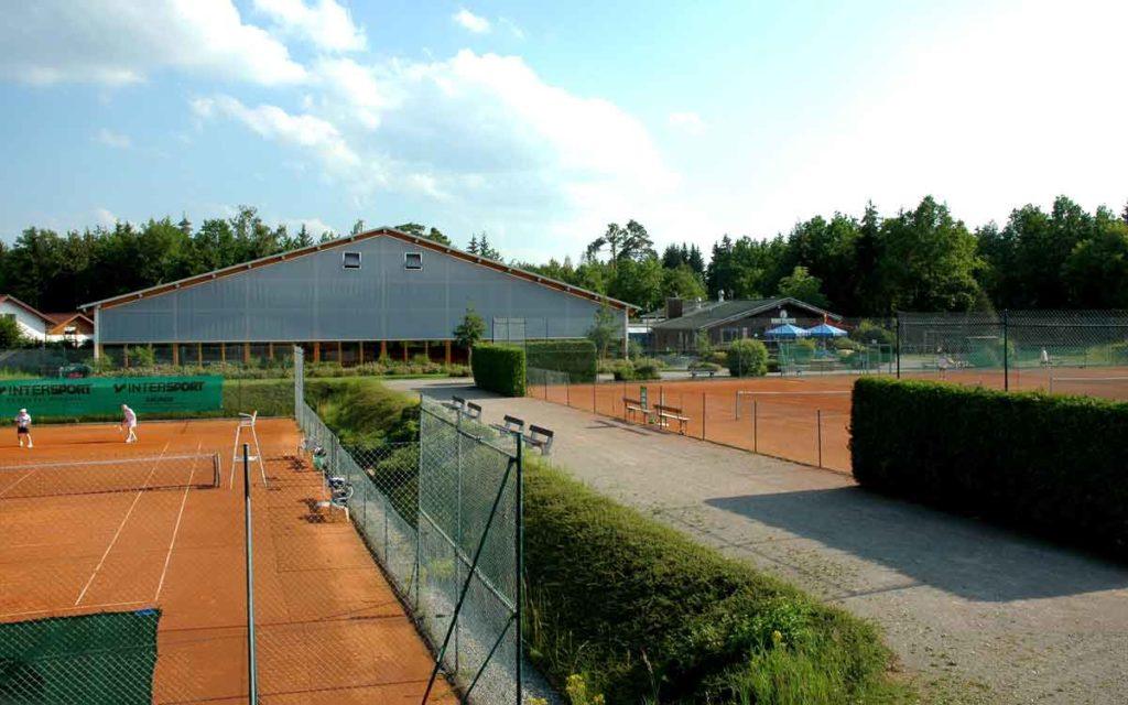 Aussen Tennisanlage TSV Gilching Argelsried e.V.