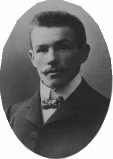 Alfons Sendlinger Vorsitzender von 1925 - 1927