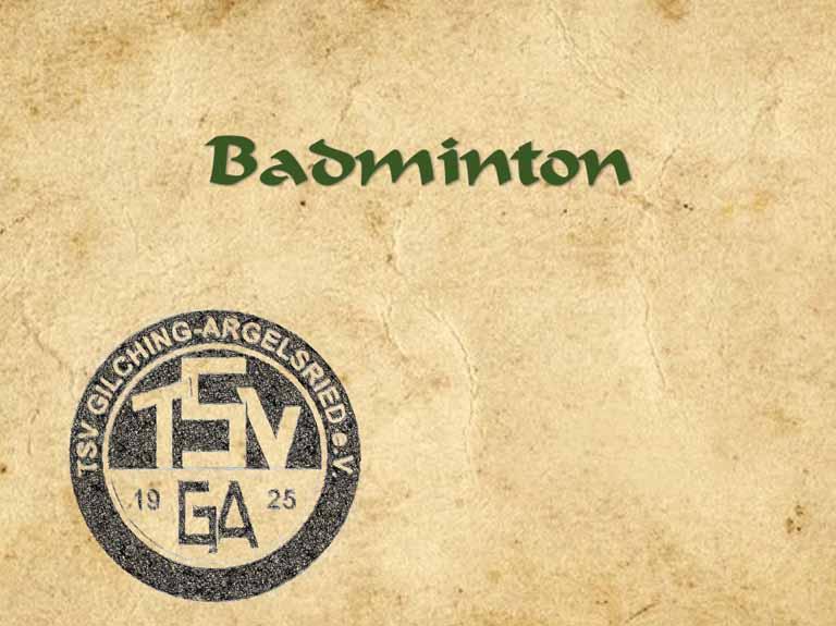 Badminton (seit 2007)
