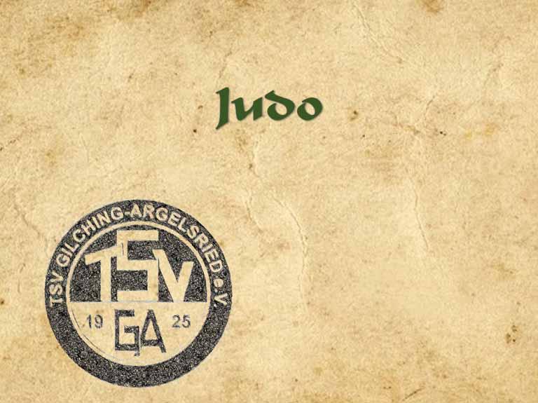 Judo (seit 1970)
