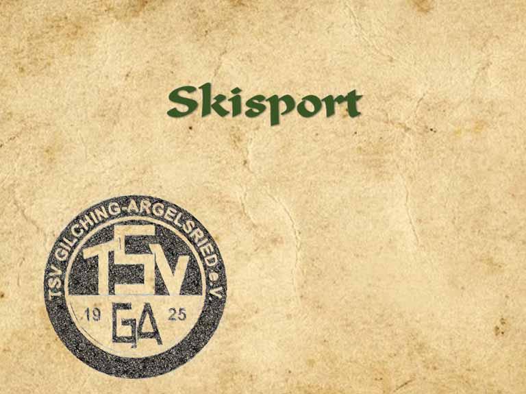 Skisport (von 1978 bis 2019)