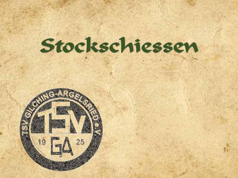 Stockschiessen (seit 1975)