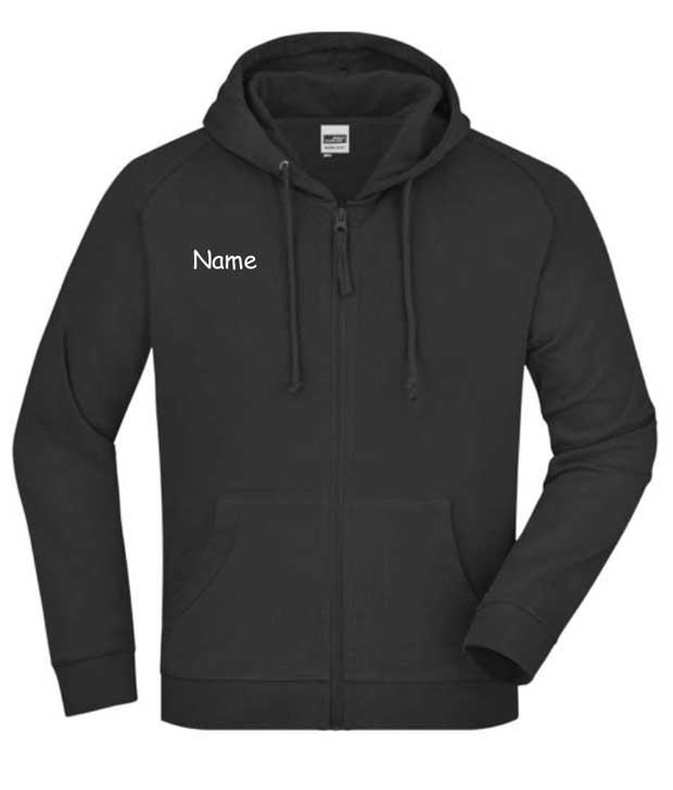 Hooded Jacket - Kapuzen-Sweatjacke für Damen, Herren und Kinder