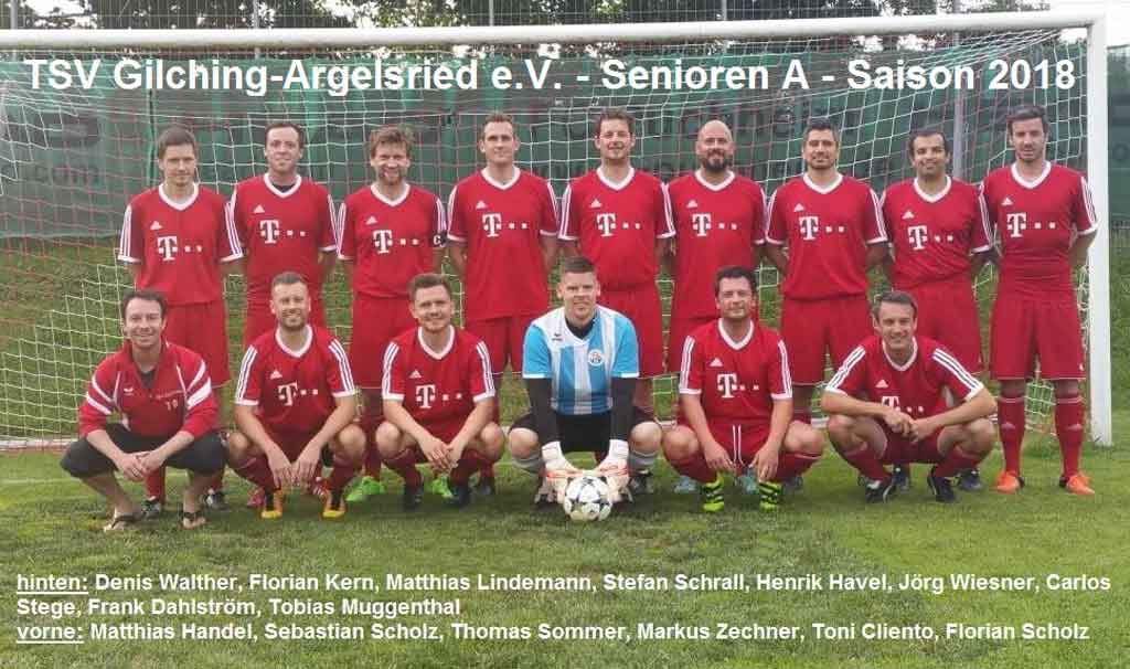 Mannschaft Senioren A  2018
