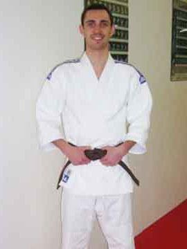 Max Tschirpig 1. Kyu Judo