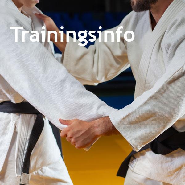 Trainingsinformationen Judo