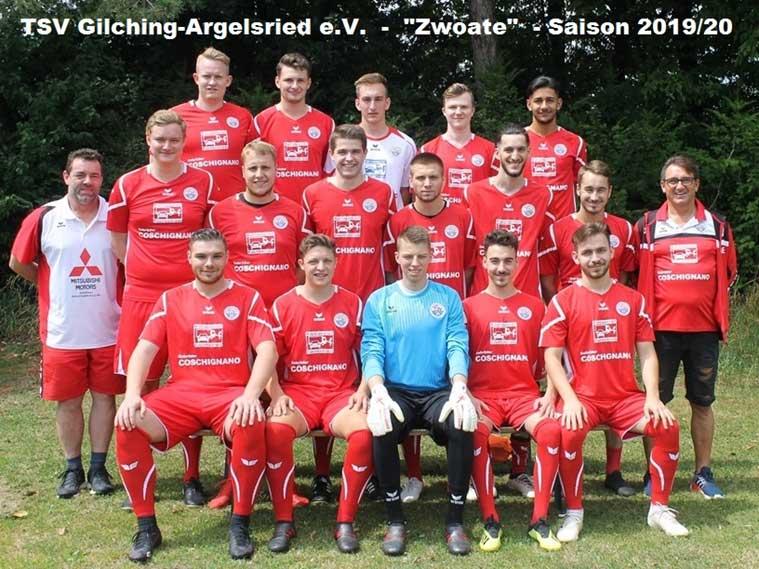 Zweite Männermannschaft TSV Gilching Argelsried