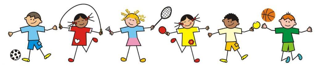 Sportliche Ausbildung Kinder